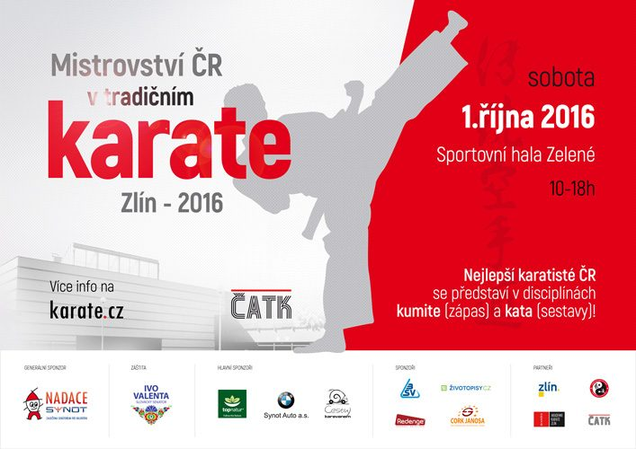 Mistrovstvi CR v tradicnim karate 2016 - Zlin